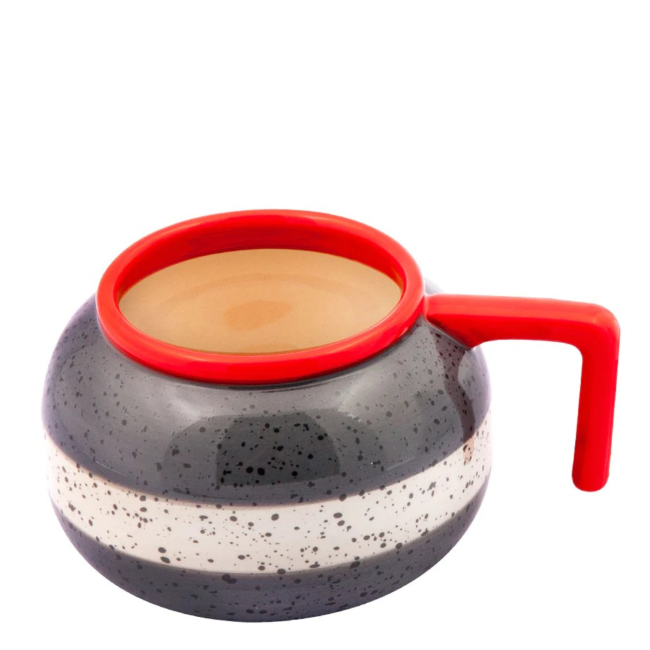 Funky Glassware Curling Rock Mug – Bergo Designs