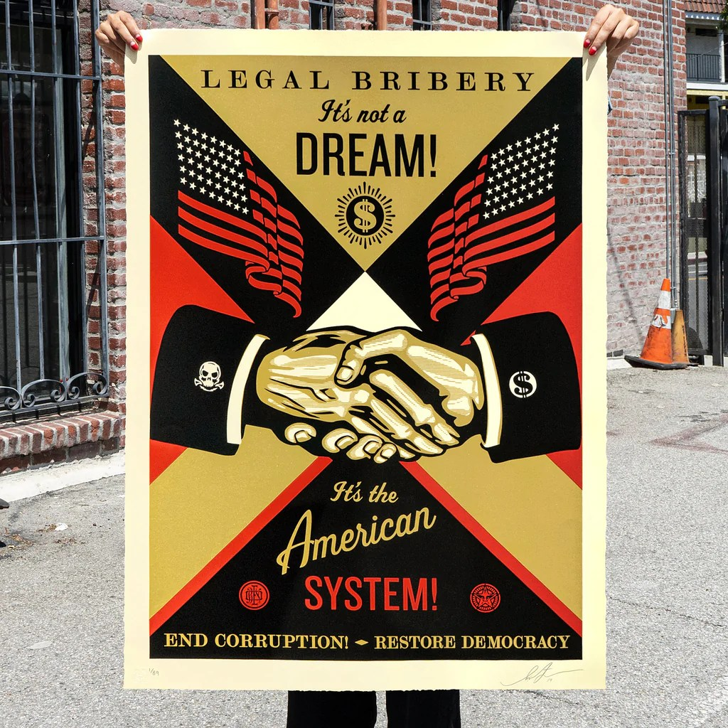 small resolution of  end corruption by shepard fairey