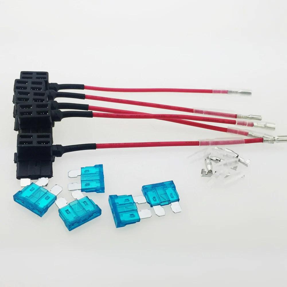 hight resolution of 5pcs lot 15a add circuit medium blade fuse box holder acs ato atc piggy back standard