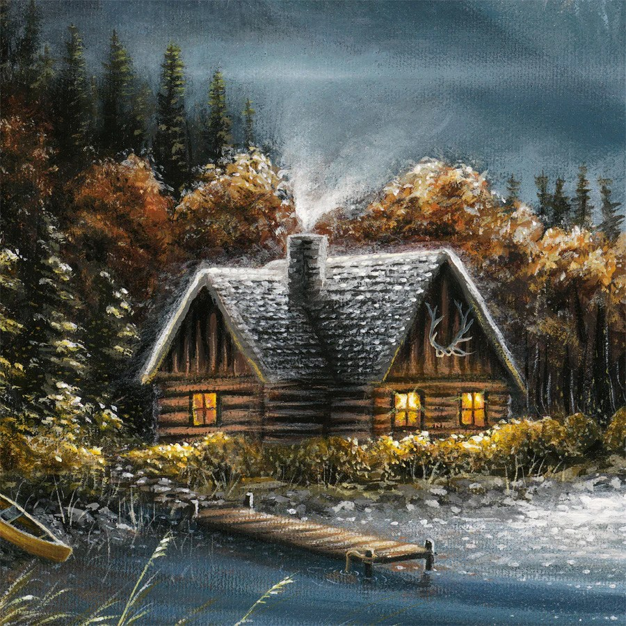 Fall Simply Southern Wallpapers Montana S Quot Boulder River Quot Landscape Painting By Chuck