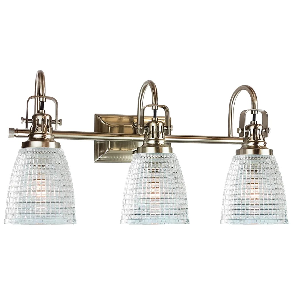 Bulb Light Brushed 8 Vanity Fixtures Nickel 6