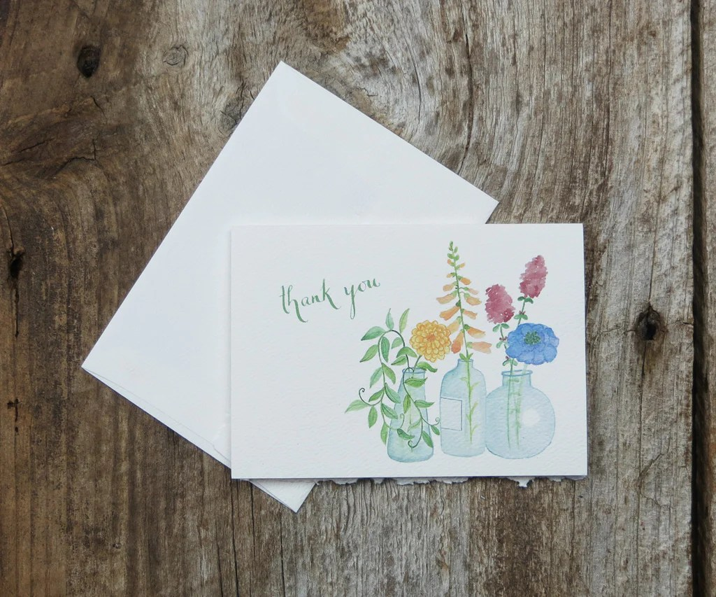 This Note Is A Great Way To Thank All Your Special Guests. The Design Will  Remind Them Of All The Thought And Creativity You Used To Make Your Wedding