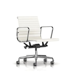Eames Aluminum Chair And Ottoman Slipcovers Pottery Barn Group Management By Herman Miller Lekker Home