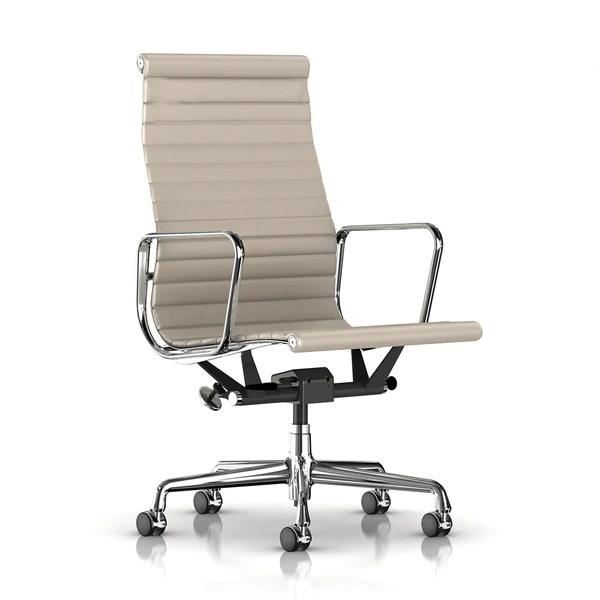 eames aluminum chair world market papasan group executive by herman miller lekker home