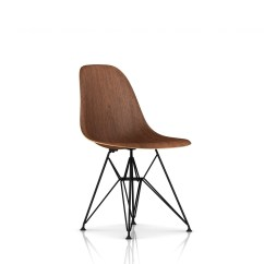 Wire Dining Room Chairs Caning Supplies Eames Molded Wood Side Chair Base By Herman Miller