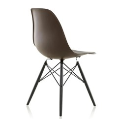 Eames Molded Side Chair Living Room Lounge Chairs Plastic Wood Dowel Base By Herman Miller Lekker Home