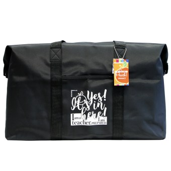 Teacher's Jumbo Duffle Bag