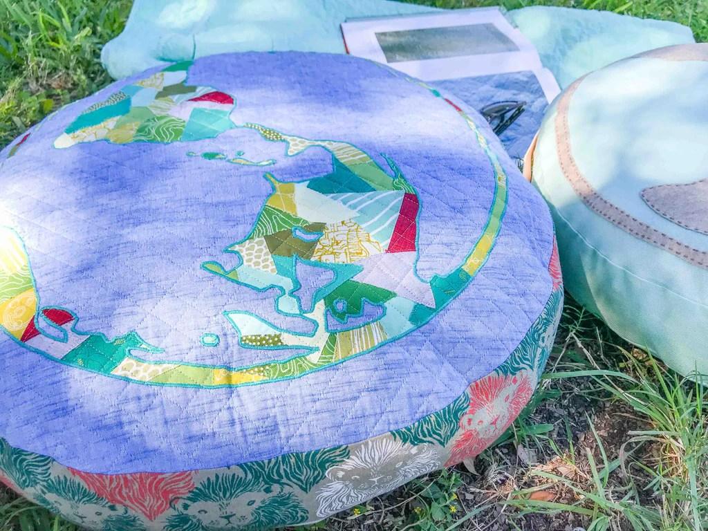 diy round pillows small round throw