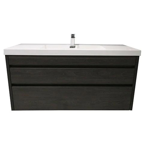 Elite Cube 1200 2 Drawer Wall Hung Stock Vanity Top 5 Colours Elite Bathroomware