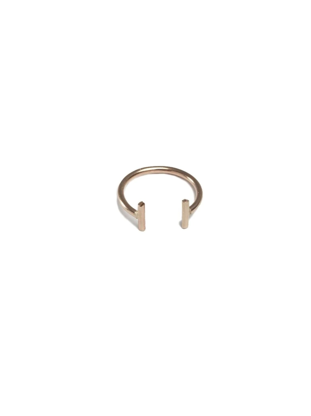 Double Bar Gold Ring from ABLE. 28.00 dollars.