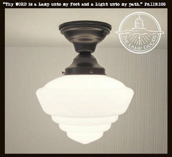 Bronze Flush Mount Ceiling Light