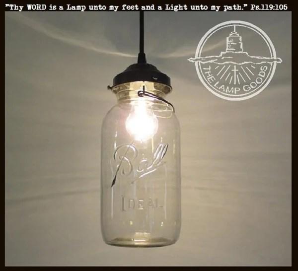 Ceiling Pendant Light Kit