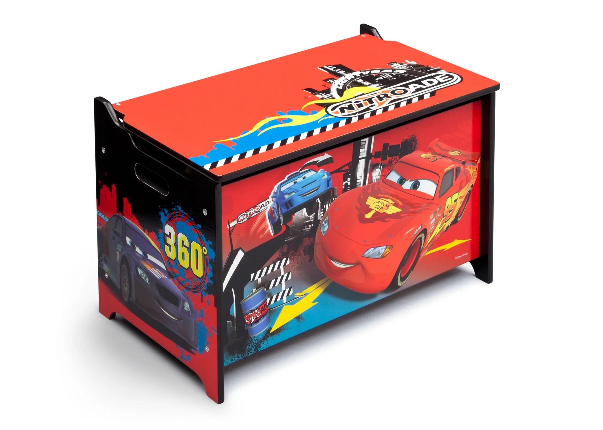 Cars Wooden Toy Box Delta Children Eu Pim