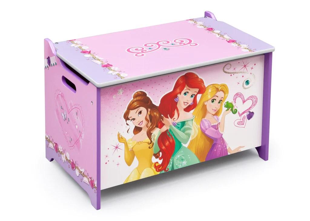 Princess Wooden Toy Box Delta Children Eu Pim