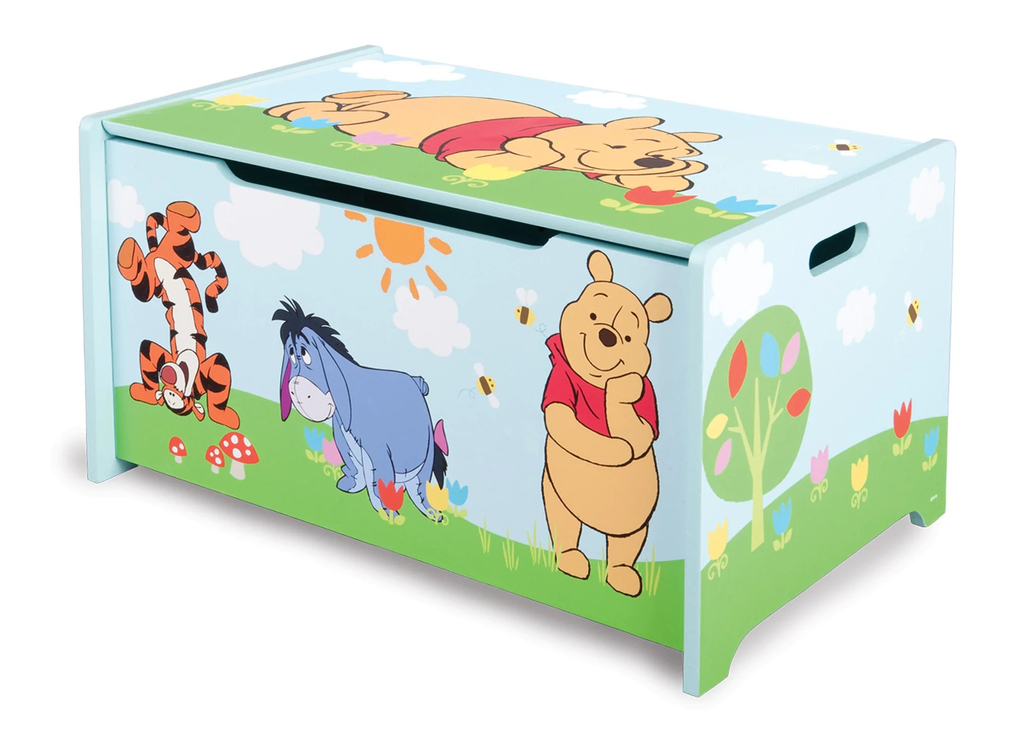 Winnie The Pooh Wooden Toy Box Delta Children Eu Pim