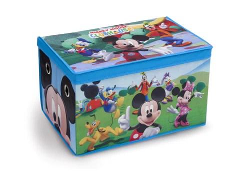 Mickey Mouse Fabric Toy Box Delta Children Eu Pim