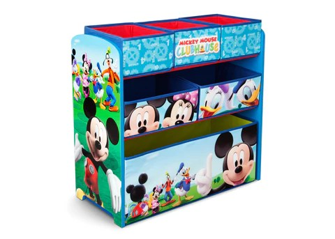 Mickey Mouse Wooden Toy Organizer Delta Children Eu Pim