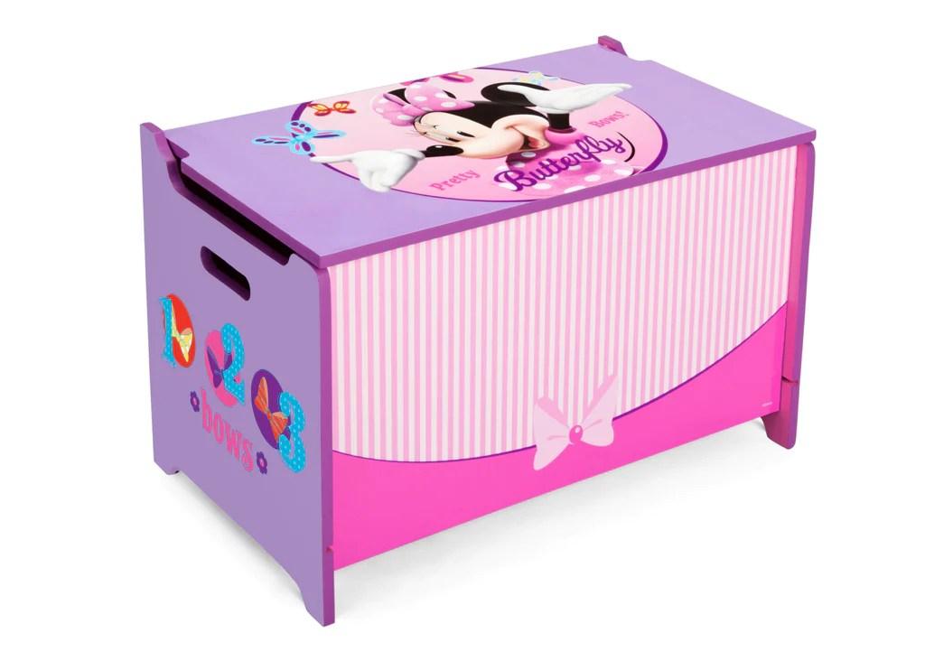 Minnie Mouse Wooden Toy Box Delta Children Eu Pim