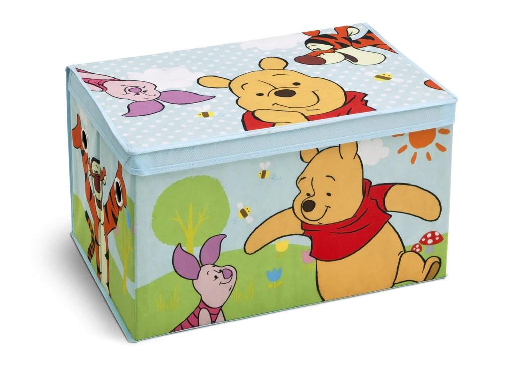 Winnie The Pooh Fabric Toy Box Delta Children Eu Pim