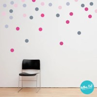 Multi-Color Polka Dot Wall Decals  Polka Dot Wall Stickers