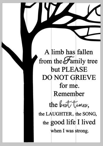A Limb Has Fallen From The Family Tree : fallen, family, Fallen, Family, Mommy's, Design