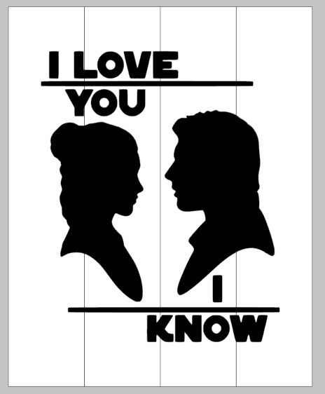 Download I love you i know-star wars - Mommy's Design Farm
