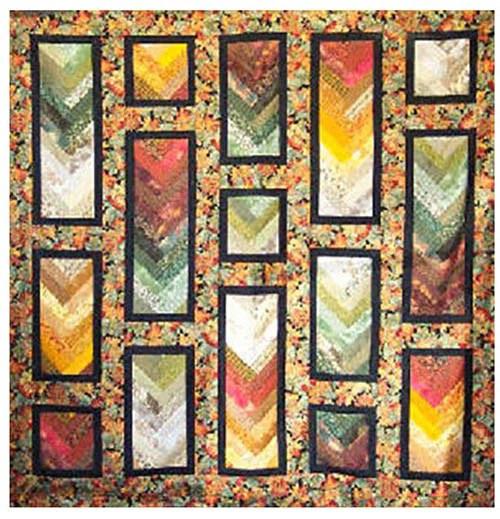 Quilt Pattern Cozy Quilt Designs Autumn Braid