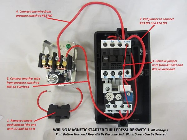 1 phase contactor with overload wiring diagram 2004 suzuki intruder 1500 magnetic motor starter single or 3 208-240v – pmc machinery & tools