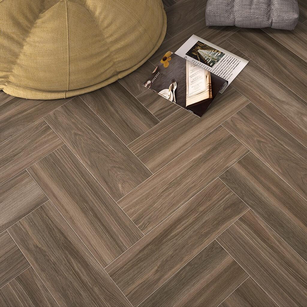 oak wood floor living room luxury fifth wheel rv front effect tiles in a gorgeous beige tone
