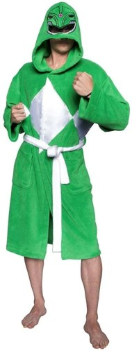 Power Rangers Adult Costume Robe, Green