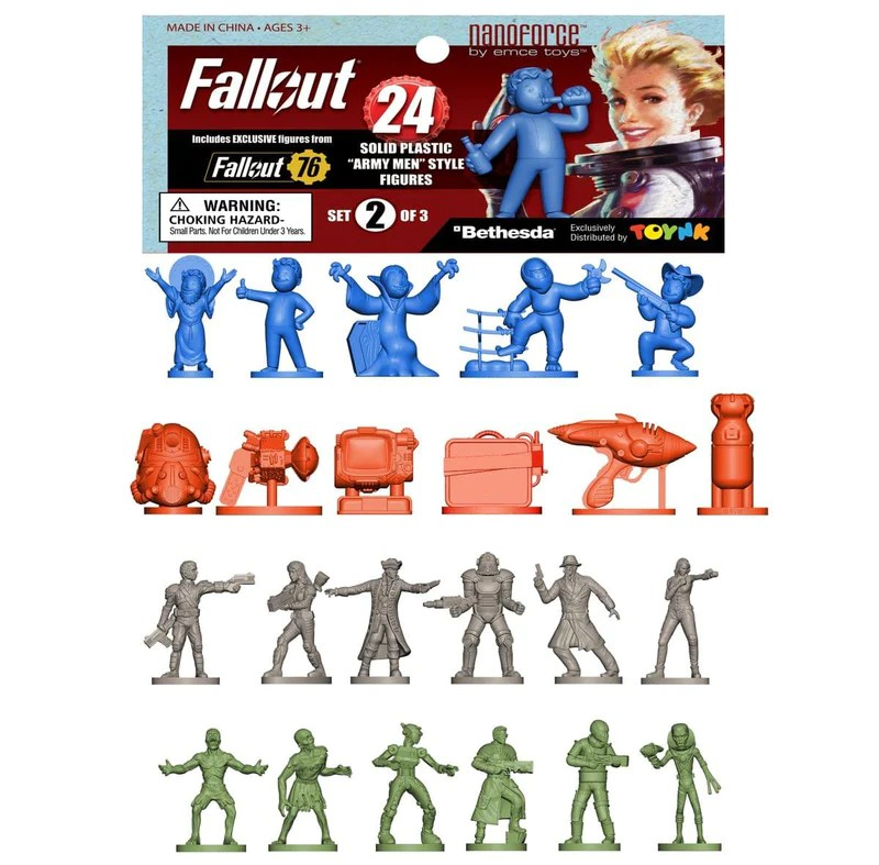 Fallout Nanoforce Series 1 Army Builder Figure Collection