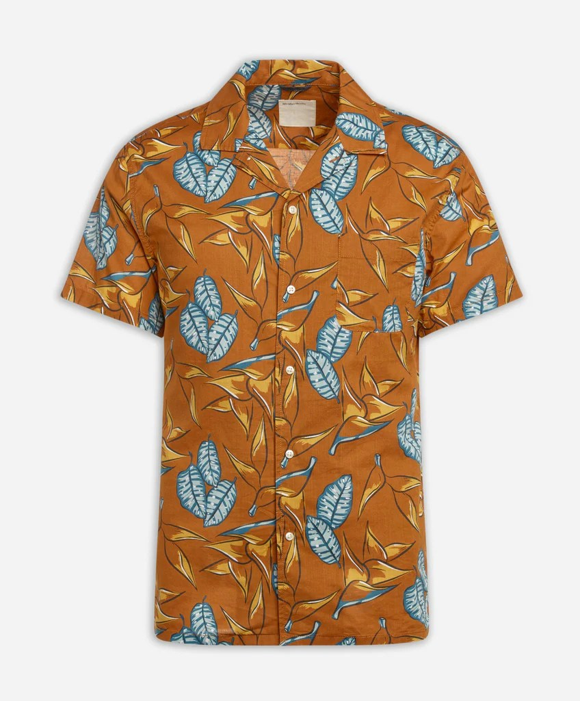 Short Sleeve Daintree Shirt - Coppertone Life Denim