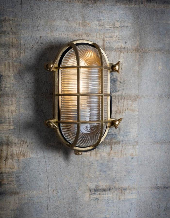 large oval industrial wall