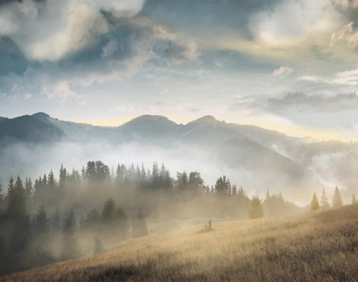 Amazing Mountain Landscape Ii. Fairfield Art Publishing
