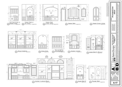 Building Sections & Interior Elevations 9 Of 11 Sater Design