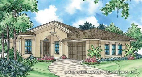 European House Plans Home Plans Sater Design Collection