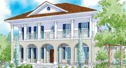 Southern House Plans Southern Home Plans Sater Design Collection