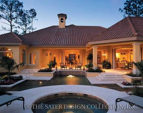 Home Plan Del Toro  Sater Design Collection
