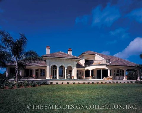 Home Plan Dauphino  Sater Design Collection