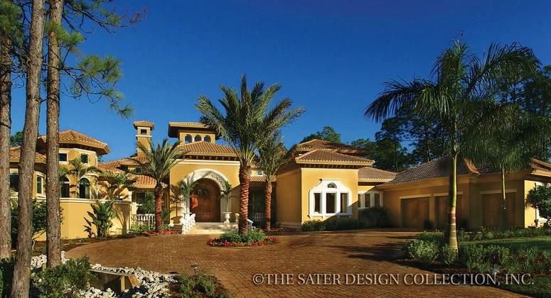 Home Plan Alamosa  Sater Design Collection