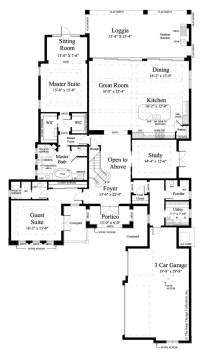 House Plan Monterchi | Sater Design Collection