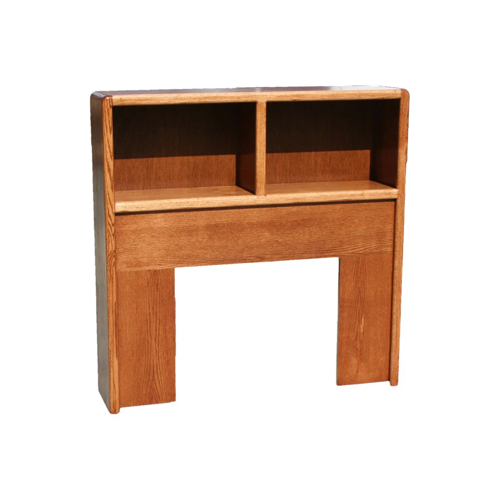 Od O C285 F Contemporary Oak Open Bookcase Headboard Full Size