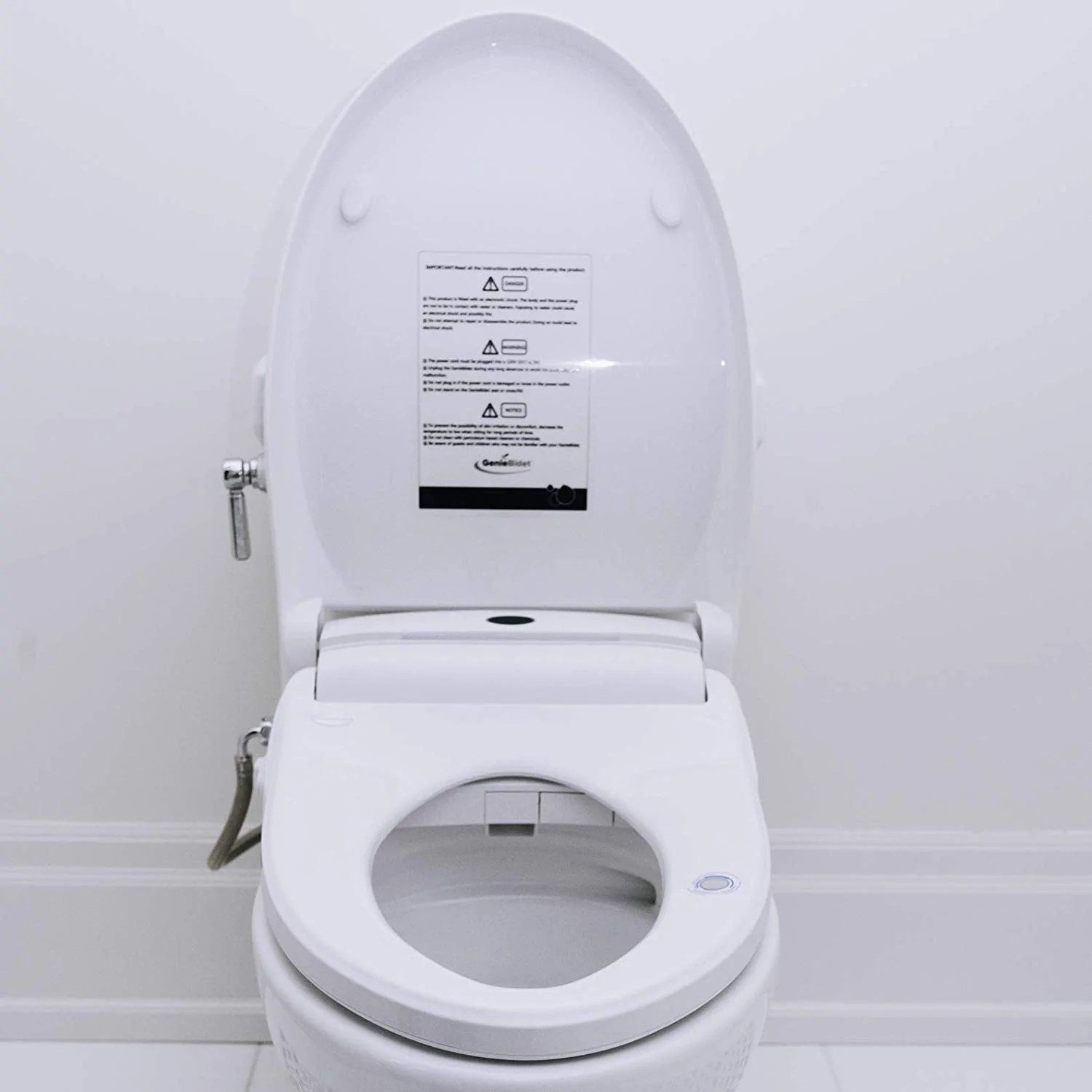 Electric Heated Bidet Smart Toilet Seat Geniebidet