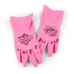 Kitchen Gloves White Canisters Boxfli Tuff Dish 3
