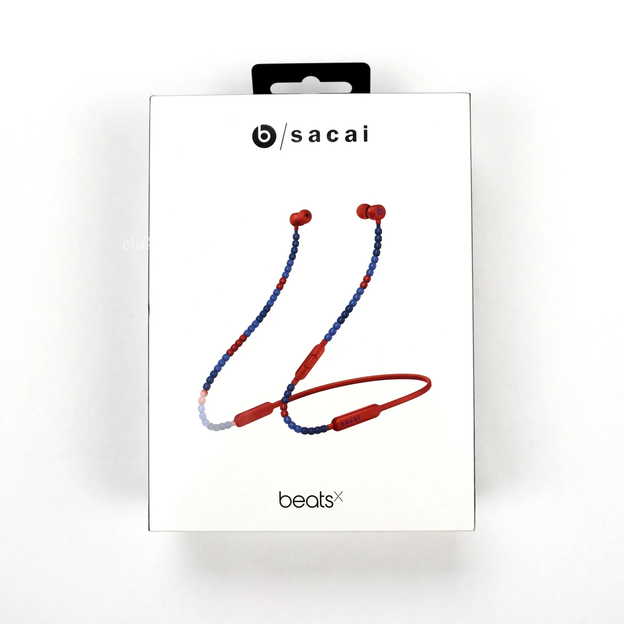 sacai x beats by dre beatsx headphones red  [ 2048 x 2048 Pixel ]