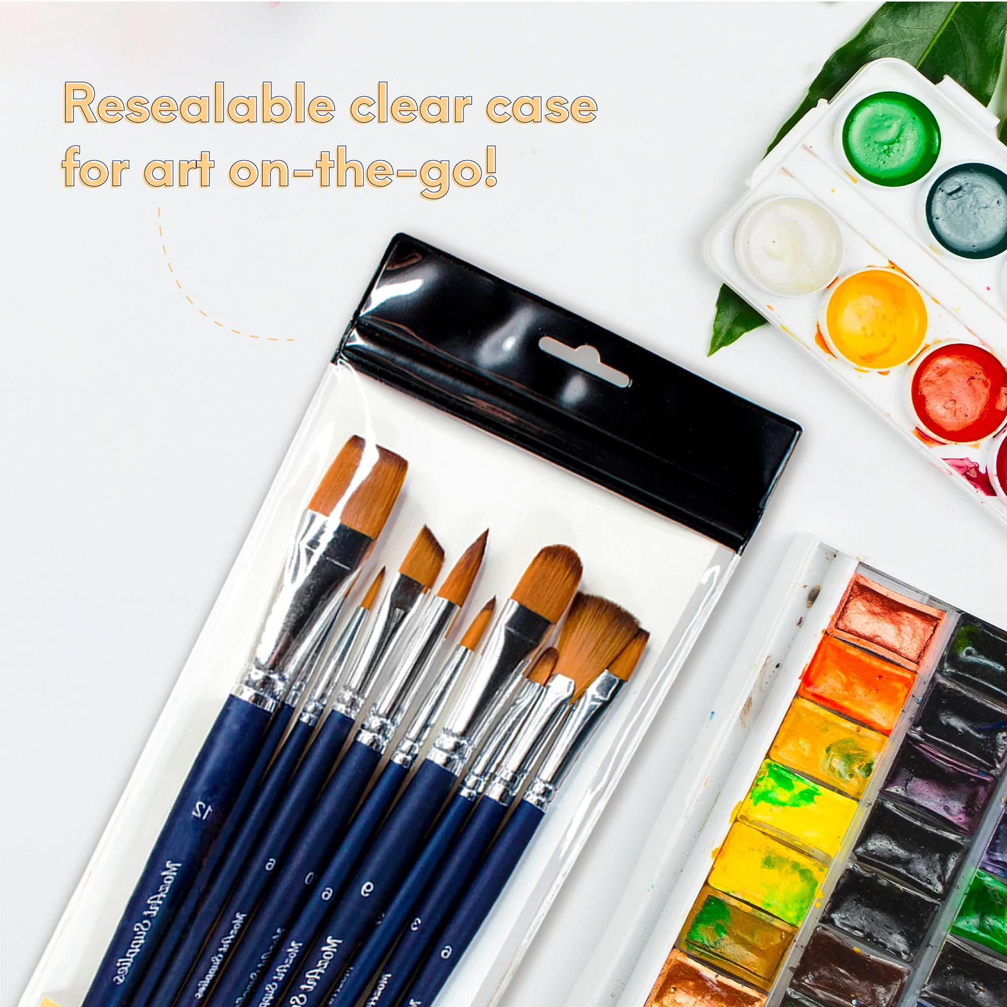 10 pcs watercolor paint