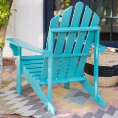 Aqua Adirondack Chairs Red High Heel Chair Acacia Wood Patio And Garden In Blue