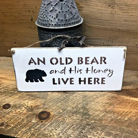 an old bear and