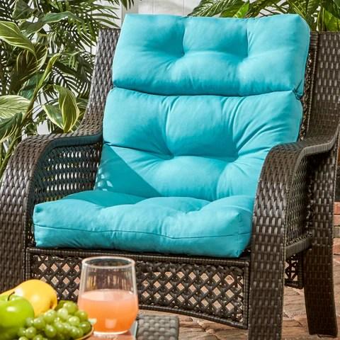 Coastal Collection Highback Outdoor Chair Cushion