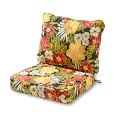 One Piece Patio Chair Cushions Cover Rentals Fredericton Outdoor Deep Seat Cushion Set  Direct